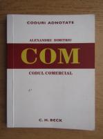 Anticariat: Alexandru Dimitriu - Coduri adnotate. Codul comercial