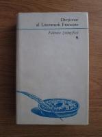 Alexandru Dimitriu Pausesti - Dictionar al literaturii franceze