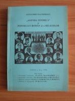 Anticariat: Alexandru Ioachimescu - Agenda istorica a poporului roman si a religiilor