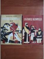 Anticariat: Alexandru Mitru - Legendele Olimpului (2 volume, cu ilustratii de C. Condacci)
