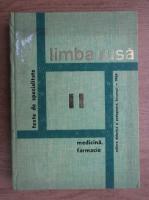 Alexandru Nicolaescu - Limba rusa (volumul 2)