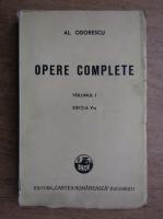 Anticariat: Alexandru Odobescu - Opere complete (volumul 1, 1945)