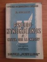 Alexandru Odobescu - Pseudo-kyneghetikos si cateva ore la Snagov (volumul 1)