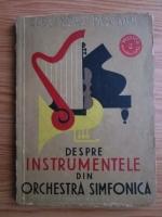Alexandru Pascanu - Despre instrumentele din orchestra simfonica