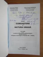 Anticariat: Alexandru Paul - Despre cunoastere si natura umana (cu autograful autorului)
