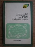 Anticariat: Alexandru Philippide - Flori de poezie straina rasadite in romaneste
