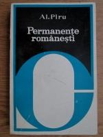 Anticariat: Alexandru Piru - Permanente romanesti