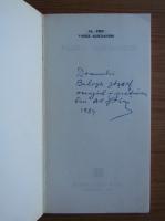 Anticariat: Alexandru Piru - Vasile Alecsandri (cu autograful si dedicatia autorului pentru Balogh Jozsef)
