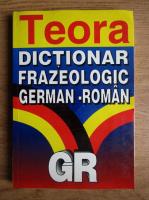 Alexandru Roman - Dictionar frazeologic german-roman