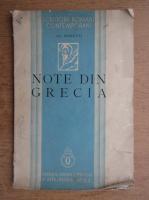 Anticariat: Alexandru Rosetti - Note din Grecia (1938)