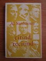 Anticariat: Alexandru Sandulescu - Citind, recitind