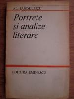 Anticariat: Alexandru Sandulescu - Portrete si analize literare