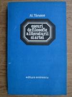 Anticariat: Alexandru Tanase - Eseuri de filosofie a literaturii si artei