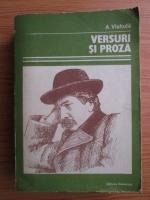 Alexandru Vlahuta - Versuri si proza