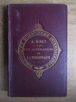 Anticariat: Alfred Binet - Les alterations de la personnalite (1892)