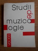 Alice Mavrodin - Studii de muzicologie (volumul 17)