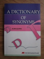 Alina Slapac - A dictionary of synonyms