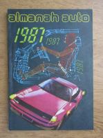 Anticariat: Almanah auto, 1987