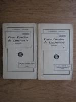 Anticariat: Alphonse de Lamartine - Cours Familier de Litterature (volumele 1, 2, 1926)
