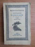 Anticariat: Alphonse de Lamartine - Meditations poetiques (1925)