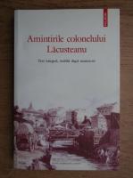 Amintirile colonelului Lacusteanu