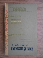 Amita Bhose - Eminescu si India