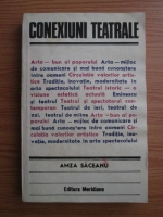 Anticariat: Amza Saceanu - Conexiuni teatrale