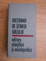 Ana Conea - Dictionar de stiinta solului