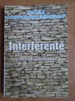 Anticariat: Analele Colegiului National Mihai Viteazul, Slobozia. Interferente (volumul 1)