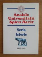 Anticariat: Analele Universitatii Spiru Haret, nr. 2, 1999
