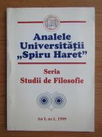 Analele universitatii ,,Spiru Haret''