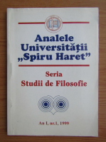 Anticariat: Analele universitatii ,,Spiru Haret''