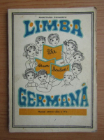 Anastasia Ghinescu - Limba germana, manual pentru clasa a IV-a, 1978