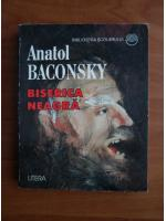 Anticariat: Anatol E. Baconsky - Biserica neagra