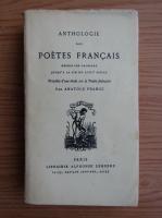 Anticariat: Anatole France - Anthologie des poetes francais (1947)