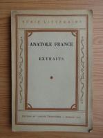 Anatole France - Extraits (1947)