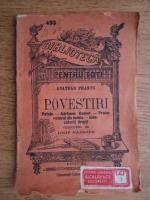 Anticariat: Anatole France - Povestiri (1920)