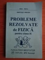 Anatolie Hristev - Probleme rezolvate de fizica pentru clasa IX