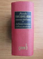 Anca Balaci - Piccolo vocabolario romeno-italiano dell'uso moderno