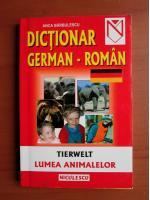 Anca Barbulescu - Dictionar German-Roman (lumea animalelor)