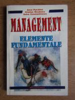Anca Purcarea - Management. Elemente fundamentale