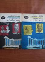Anticariat: Andocide, Lisias, Isocrate - Pagini alese din oratorii greci (2 volume)