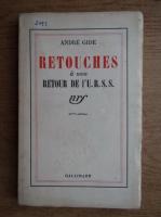 Andre Gide - Retouches a mon retour de l'U.R.S.S (1937)