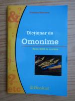 Anticariat: Andreea Bancescu - Dictionar de omonime