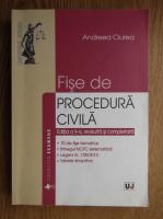 Anticariat: Andreea Ciurea - Fise de procedura civila
