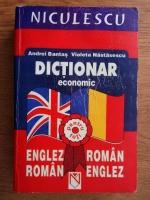 Anticariat: Andrei Bantas - Dictionar economic englez-roman, roman-englez