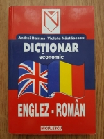 Anticariat: Andrei Bantas - Dictionar economic Englez-Roman