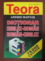 Anticariat: Andrei Bantas - Dictionar Englez-Roman; Roman-Englez (75.000 de cuvinte)
