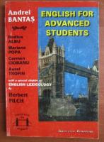 Anticariat: Andrei Bantas - English for advanced students