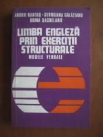 Andrei Bantas, Georgiana Galateanu, Doina Sachelarie - Limba engleza prin exercitii structurale. Modele verbale